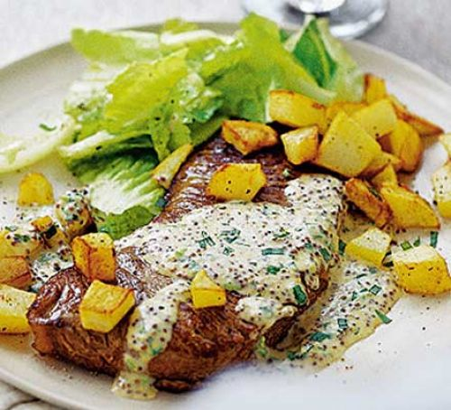 Steak for One with a Quickie Béarnaise